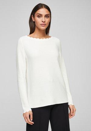 MET BOOTHALS - Jumper - soft white