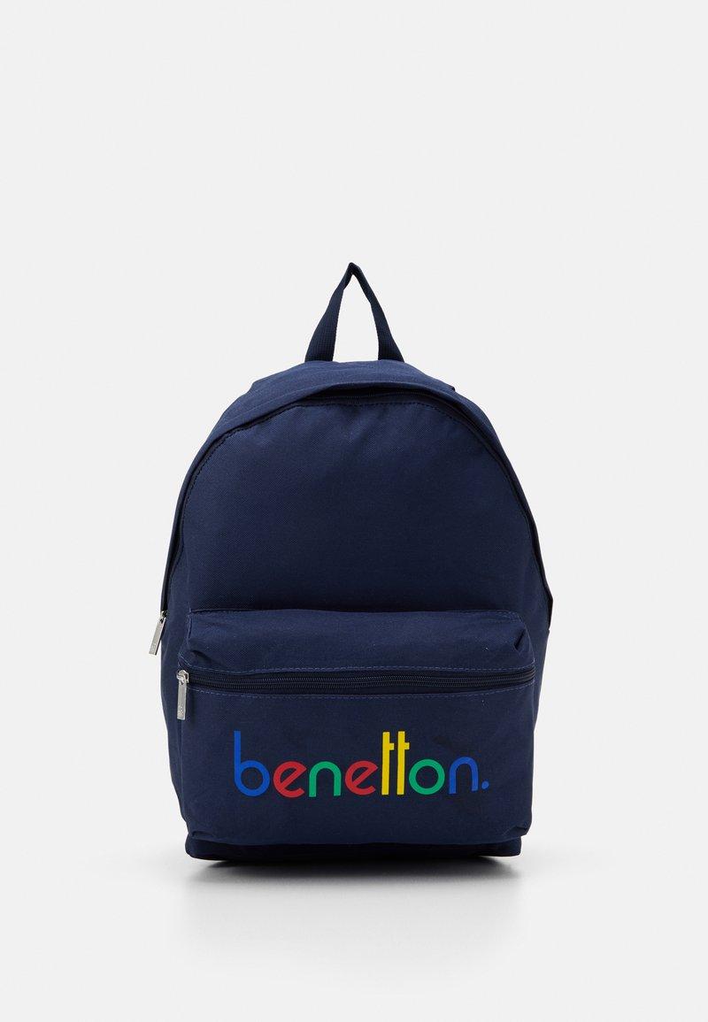 Benetton - KNAPSACK - Rucksack - dark blue