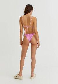 PULL&BEAR - Bikini top - mottled light pink - 2
