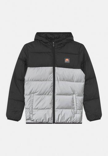 TRANSO PADDED UNISEX - Winter jacket - black/silver