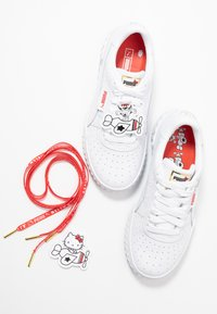Puma - CALI HELLO-KITTY  - Sneakers - white/prism pink - 7