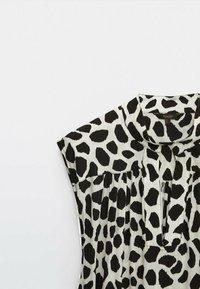 Massimo Dutti - Zip-up sweatshirt - white - 2