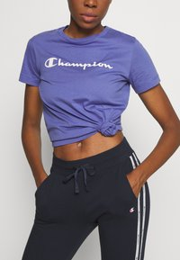 Champion - CUFF PANTS LEGACY - Jogginghose - dark blue - 3