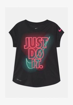 GLOW IN THE DARK - Camiseta estampada - black