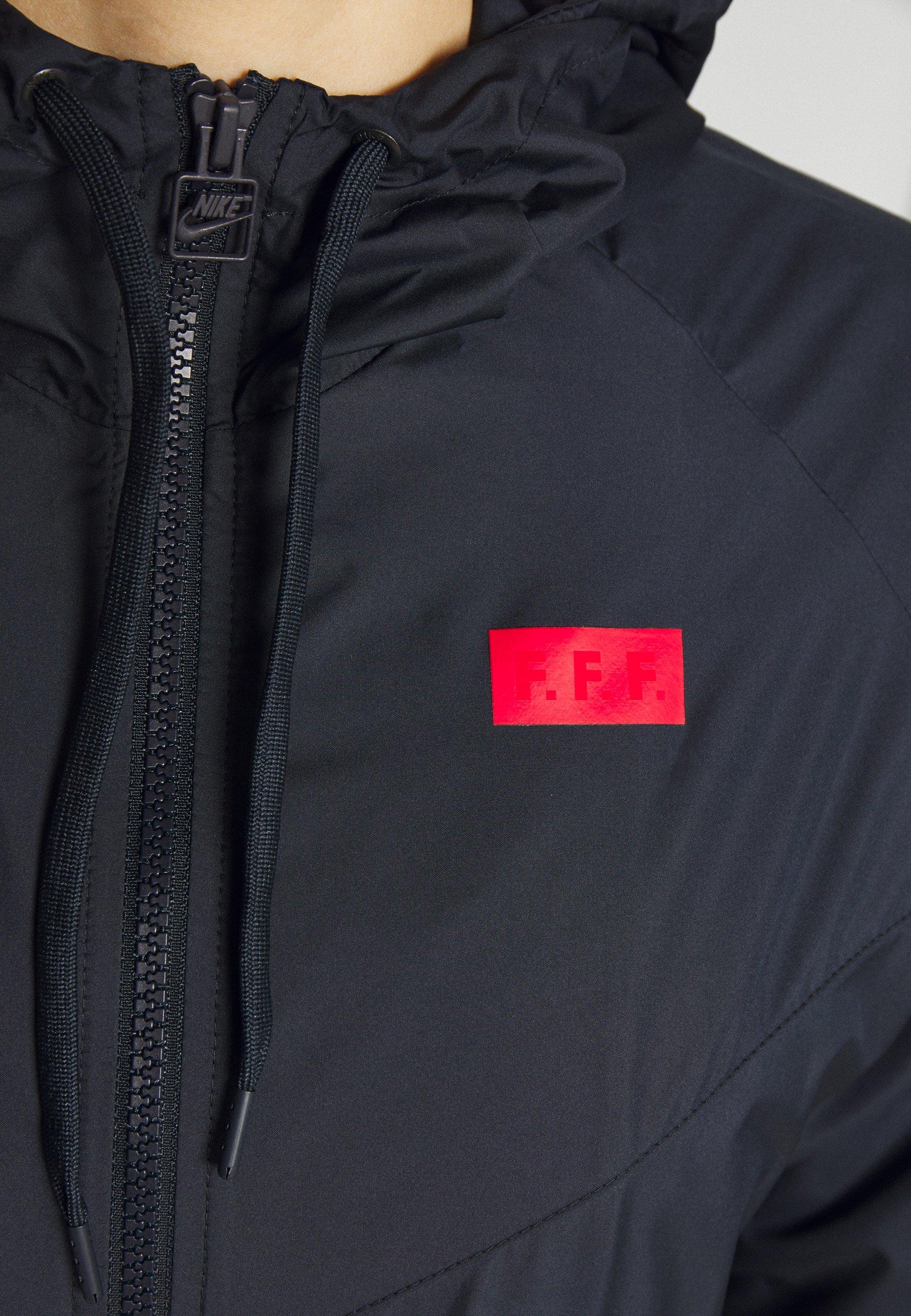 Nike Performance FRANKREICH FFF - National team wear - dark obsidian/university red Owdzc