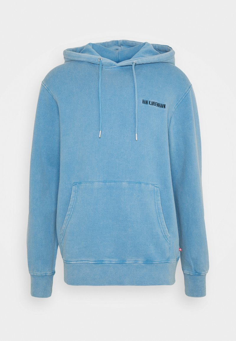 Han Kjøbenhavn - CASUAL HOODIE - Sweater - faded blue