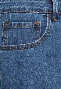 Simply Be - EXTREME RIPPED CITY  - Denim shorts - dark vintage - 7