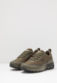 KangaROOS - KX-3500 - Sneaker low - olive/jet black - 3