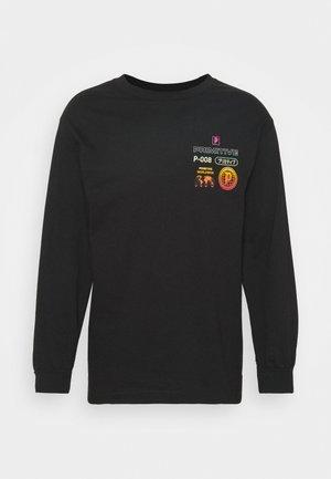 PEAK TEE - Long sleeved top - black