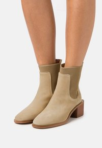 Zign - Classic ankle boots - beige - 0
