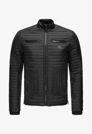 MIT LOGOPATCH - Winter jacket - black