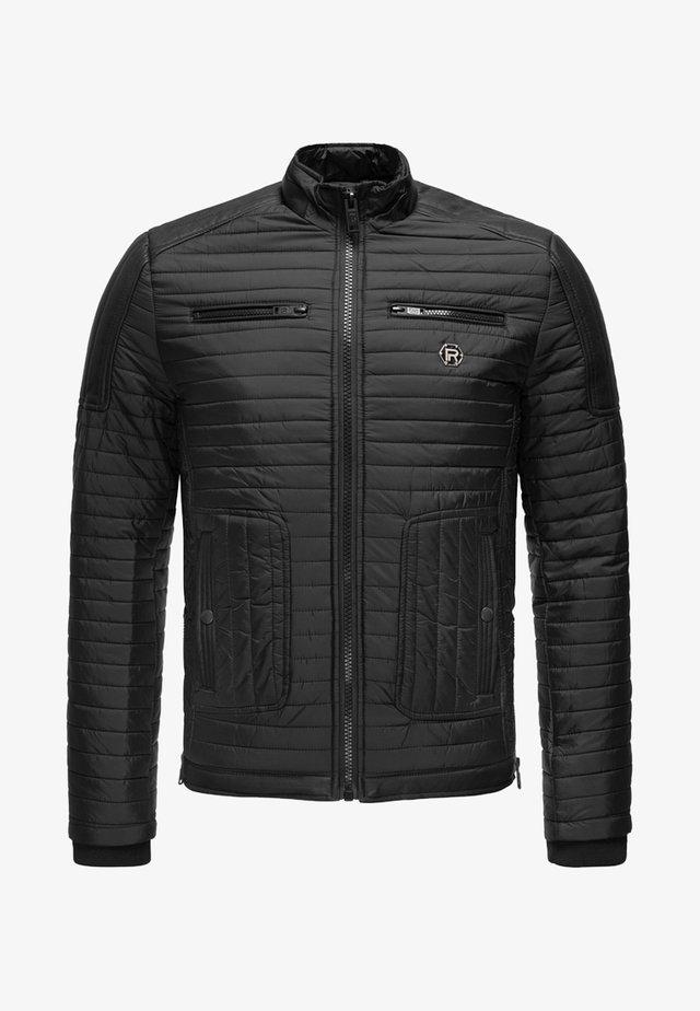 MIT LOGOPATCH - Winter jacket - black