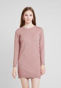 JDY - JDYMARCO DRESS - Strikket kjole - salmon - 0