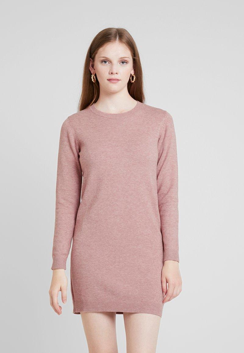 JDY - JDYMARCO DRESS - Strikket kjole - salmon