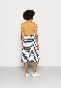Marc O'Polo - JERSEY SKIRT - A-line skirt - multi/dark blue - 2