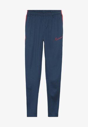 DRY - Teplákové kalhoty - valerian blue/laser crimson