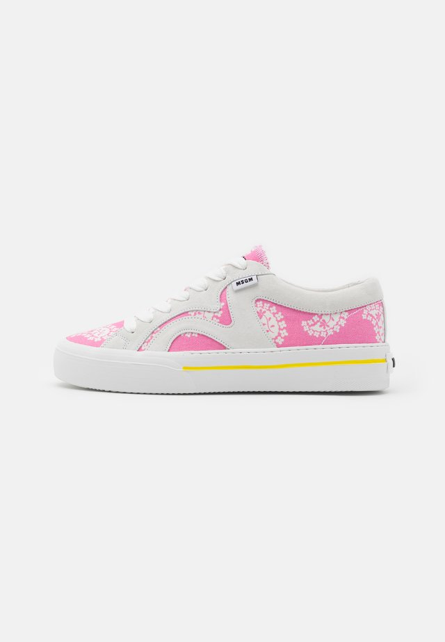 SCARPA DONNA WOMANS SHOES - Baskets basses - pink/white