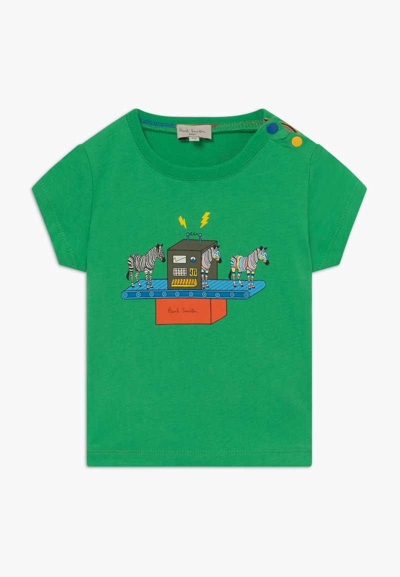 Paul Smith Junior - AZOU - Print T-shirt - kelly green