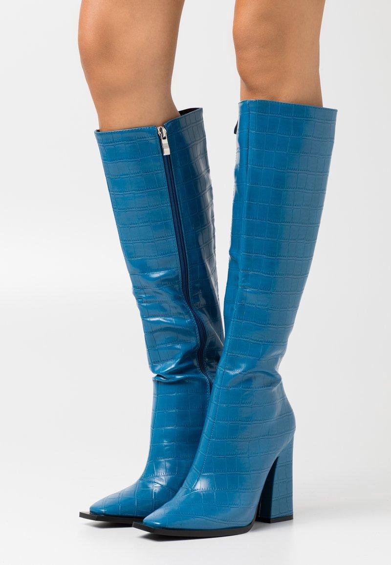 RAID - SPHERE - Bottes à talons hauts - blue