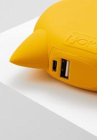 mojipower - LOVE CATEXTERNAL BATTERY - Power bank - yellow - 2