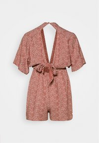 Nly by Nelly - FRONT KNOT  - Jumpsuit - orange - 1