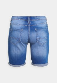 Blend - SCRATCHES - Jeansshort - blue denim - 1