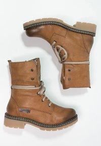 Rieker - Šněrovací kotníkové boty - cayenne/kastanie/braun - 3