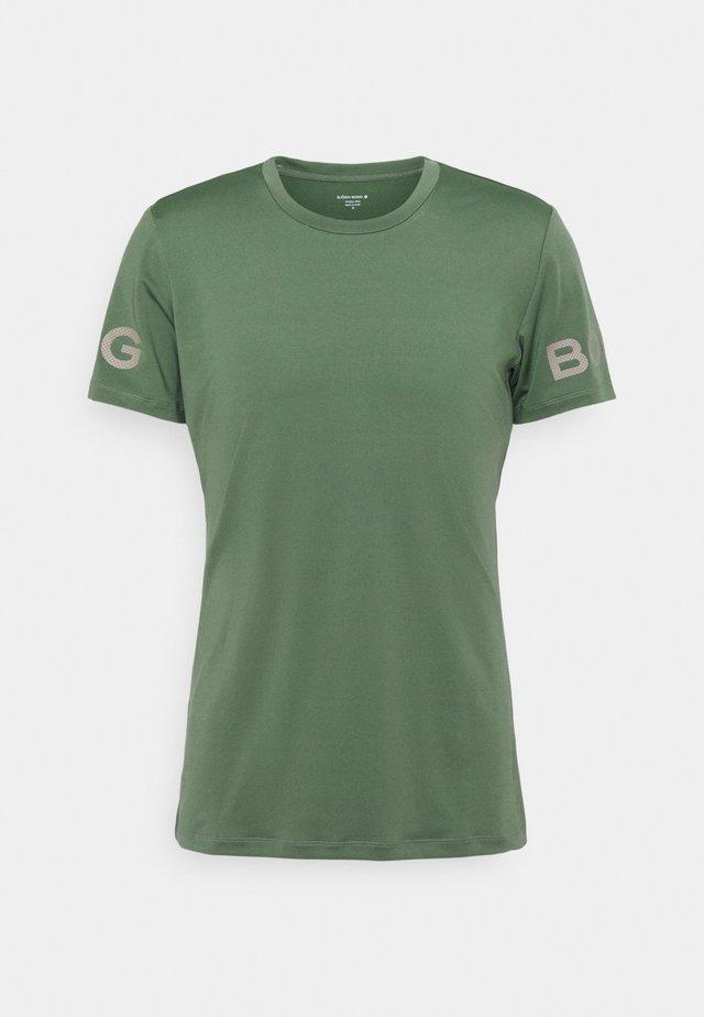T-shirt sportiva - duck green