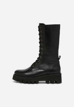HEAVENLY - Lace-up boots - black