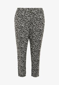 New Look Curves - CURVES LOUISE SPOT JOGGER - Trousers - black - 3