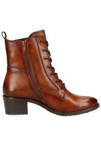 Bugatti - Lace-up ankle boots - cognac - 6