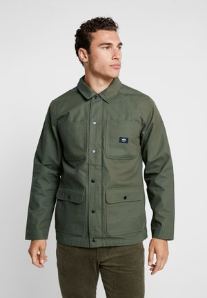 DRILL CHORE COAT LINED - Summer jacket - grape leaf