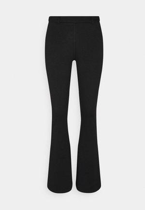 OBJSAVA NICKY PANTS - Kalhoty - black