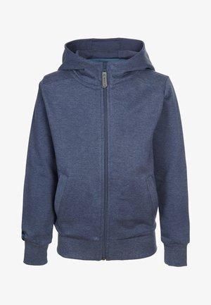 Zip-up sweatshirt - bluemelange