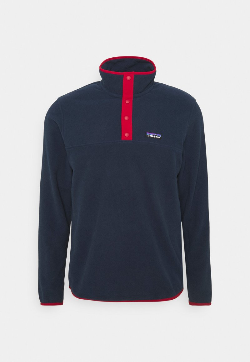 Patagonia - MICRO SNAP - Fleece jumper - new navy/classic red