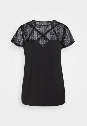 A$AP ROCKY LOUISE - Print T-shirt - jet black