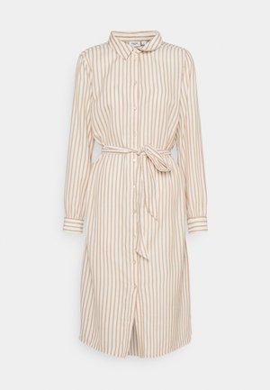 AUGUSTA DRESS - Shirt dress - praline