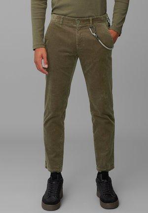 Spodnie materiałowe - utility olive