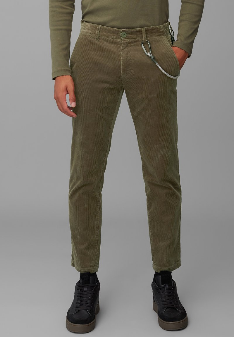 Marc O'Polo DENIM - Trousers - utility olive