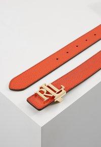 Lauren Ralph Lauren - Belt - pumpkin/tan - 2