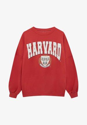 """""""HARVARD"""" IM COLLEGE-STIL - Sweatshirt - red"""