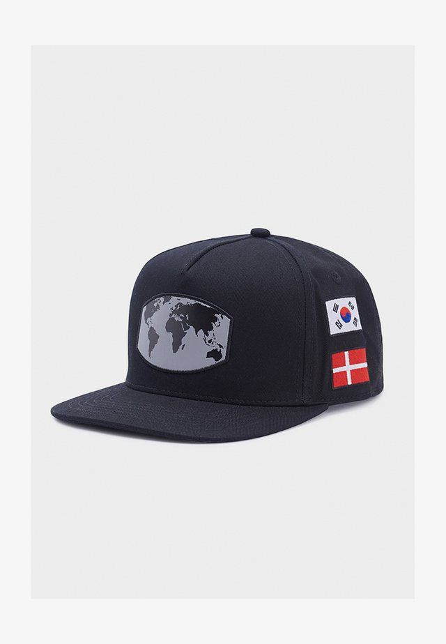 CSBL WORLDWIDE  - Gorra - black/mc