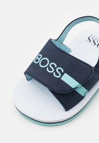 BOSS Kidswear - LIGHT  - Sandals - navy - 5