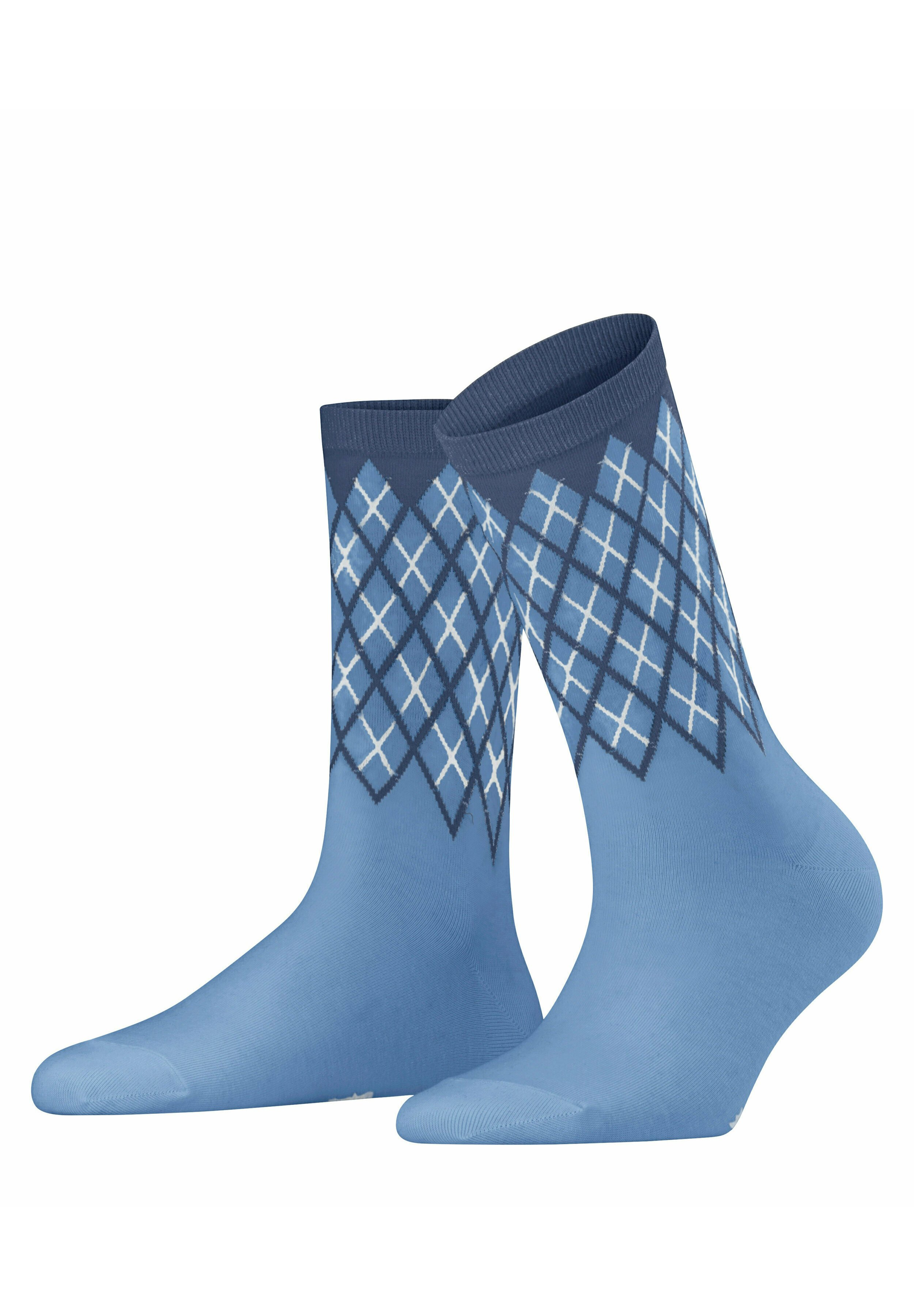 Femme Chaussettes - cornflower blue