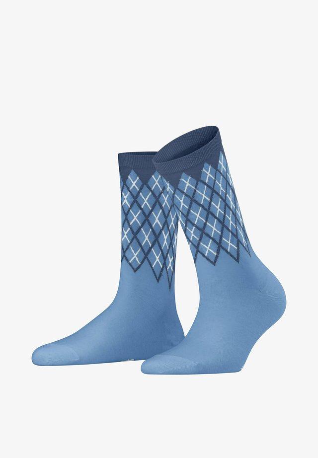Sokken - cornflower blue