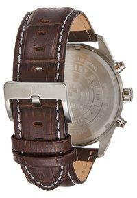 Swiss Military Hanowa - HELVETUS - Chronograph watch - brown/blue - 2