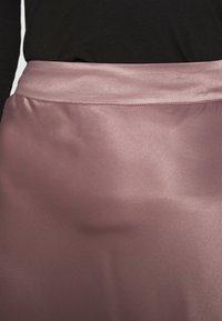 Second Female - EDDY NEW SKIRT - Áčková sukně - peppercorn - 4
