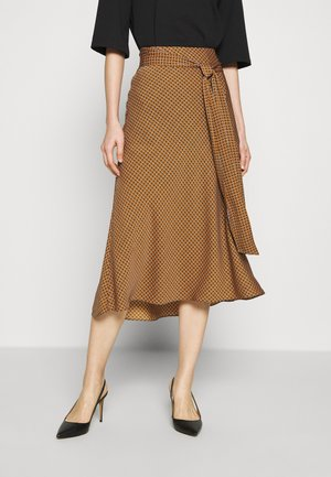 LESLEY - A-line skirt - orange