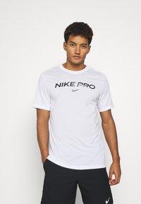Nike Performance - TEE PRO - Triko spotiskem - white - 0