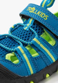 TrollKids - KIDS SANDEFJORD - Walking sandals - medium blue/lime - 2
